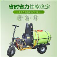 农作物自走式打药机 三轮柴油喷药机