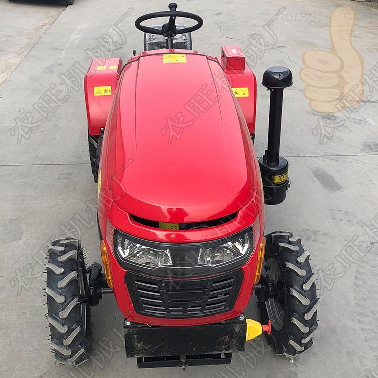 农用两驱四轮拖拉机 农田四轮驱动开沟机