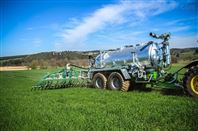 大连雨林厂家直销液体有机肥沼液施肥罐车