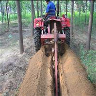 移動一體式鏈式柴油直噴開溝機定制