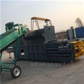 ZYD-120潍坊多功能液压卧式打包机 车载卧式小型机