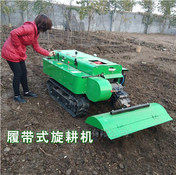 厂家直销履带式开沟机 小型微耕机