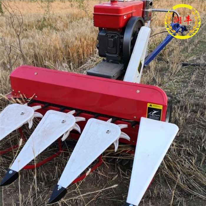 养牛人用苜蓿草割晒机 柴油机一体收割机