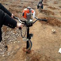 便攜式植樹挖坑機 打坑機 打眼機價格