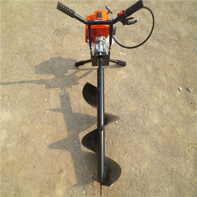 厂家直销汽油地钻机 挖坑机 手提式打坑机