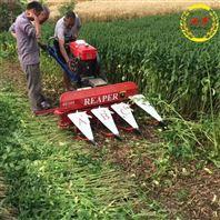 通用型微耕收割机 手扶式大豆割晒机