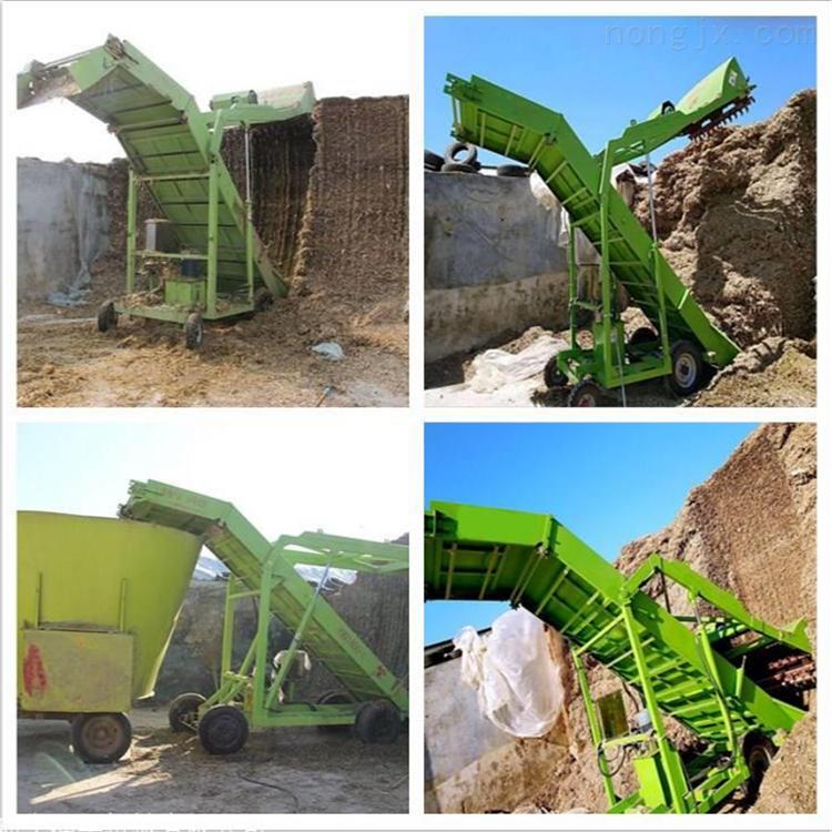玉米秸秆草料扒料机 青贮取料机润华机械