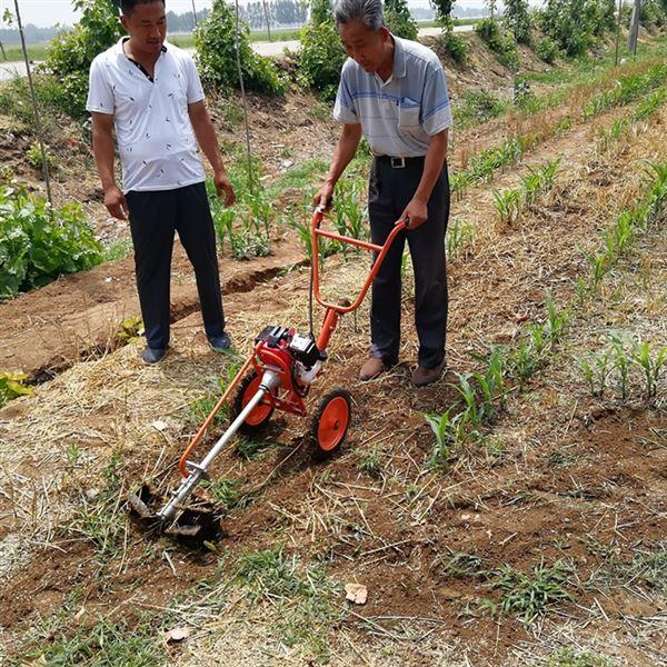 园林树下除草机背负式锄草松土机