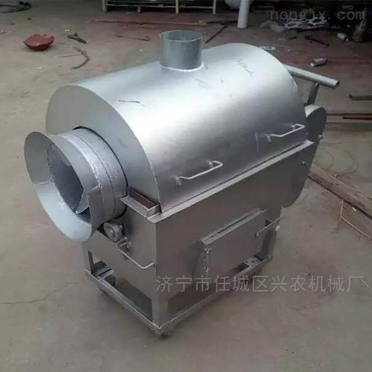 电加热菜籽滚筒炒货机厂家