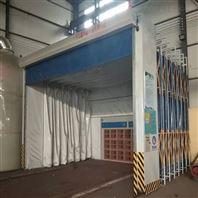 移动伸缩式喷漆房轨道式废气处理环保设备