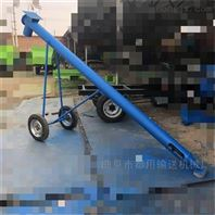 自吸式玉米蛟龍提升機,車載式圓管收糧食機