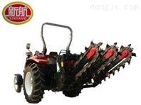 土壤耕整三链式、双链条果园种植新型开沟机