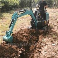 低价格农田园林小型履带式开沟挖土机ljy7