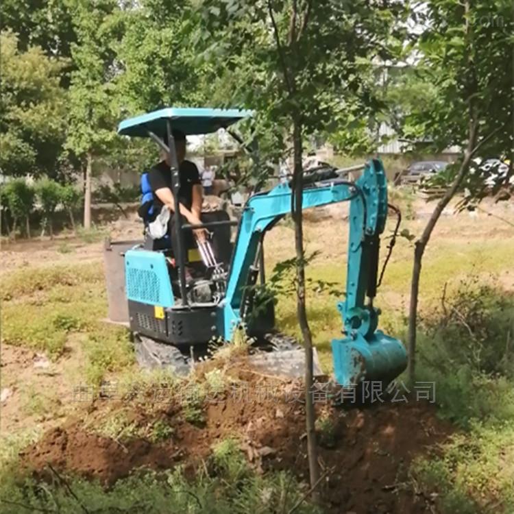 移动方便操作简单微型挖掘机果园专用ljy7