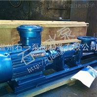 温州石一泵阀G型单螺杆泵