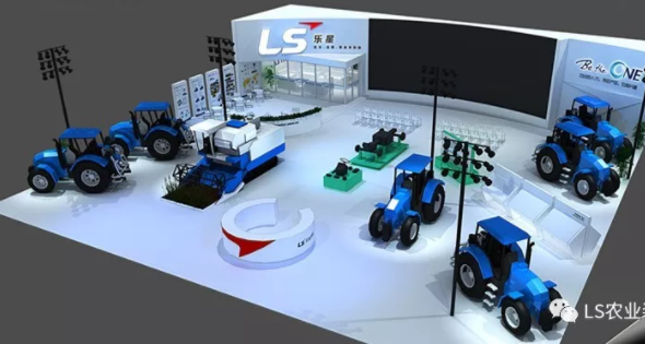 樂星農業裝備2019中國國際農業機械展預告