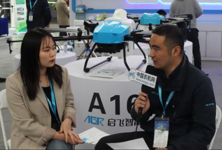 专访杭州启飞智能销售部总监任佳琦