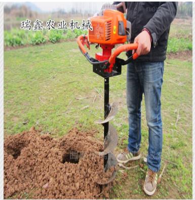 汽油挖坑機
