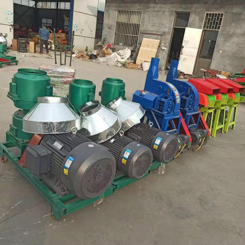 外贸公司在曲阜市圣鲁机械厂定制的养殖机械